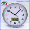 Plastic Wall Clock with Calendar (PWC4702)