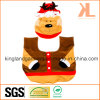 Quality Christmas Bathroom Decoration Bear Toilet Seat Cover