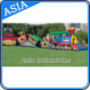 New Inflatable Circus Train Fun City/Inflatable Train Fun Land
