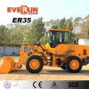 3 Ton Everun Brand New Front End Loader with Sweeper for Sale