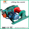 Hand Control Fast Humping Electric Winch for Crane Used