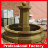 Yellow Marble Water Fountain for Garden Decoration