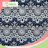 60cm Wholesale African Water Soluble Flower Cotton Lace Fabric