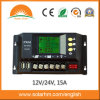 12/24V 15A LCD Solar Power Charger