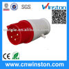 015/025 5pin IP44 Industrial Waterproof Plug with CE