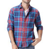 Hot Sale Fashion Mens Casual Plaids Cotton Dress Shirt