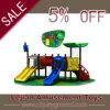 Wonderful Cartoon Fisrt Level Quality Children Slide Equipment (X1518-4)