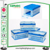 Plastic Foldable Transparent Storage Box Clear Crate with Lid