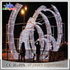 Twinkling Outdoor Decoration Commercial Christmas Giant Arch LED String Light