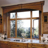 Aluminum Clad Oak Wood Casement Window
