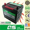 JIS-55D23 12V60AH Maintenance Free Car Battery Japanese car battery Mini generator battery