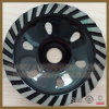 Turbo Segments Diamond Cup Wheel for Concrete Grinding