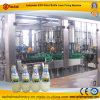 3 in 1 Glass Bottle Beverage Filling Capping Machine