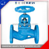Industrial Cast Iron Globe Valve with Flange