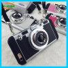 Camouflage Silicone Camera Style Lanyard Mobile Phone Case