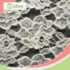 African Pupolar White Cotton and Nylon Lace Fabric