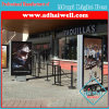Side of Bus Shelter Free Standing Scrolling Light Box