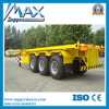 3 Axles 20FT 40FT Container Frame Semi Trailer for Sale