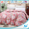 Flower Printed 100% Cotton Fabric Down Quilt/Duvet