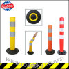 Roadway High Visible Temporary Parking Security Fold Down Bollards