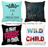 Promotional Home Decorative Custom Printing Chair Sofa Squarethrow Pillow Cushion