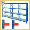 4 Tiers Medium-Duty Adjustable Metal Warehouse Rack System