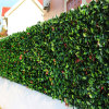 Topiary Plastic Green Boxwood Leaf Fence Artificial Hedge