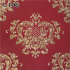 Heavy Emboosed Vinyl Wallpaper for Home Decoration (550g/sqm)