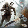 Assassin′s Creed 3 Connor Kenway Axe Tomahawk Hatchet 40cm