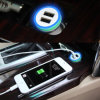 2015 Newest Design 5V Portable Mobile Phone Universal Car Charger/ Dual USB Car Charger