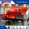 30m3/Hr Electric Trailer Concrete Mixer Pump with 450L Drum