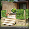 Interlocking Plastic Artificial Hedge Garden Privacy Fence