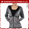 2017 Popular Cheap Dark Grey Gym Hoodies for Women (ELTWGHI-20)