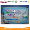 Ultra Thin High Absorbency Cotton Topsheet with Wave Anion Chip Sanitary Pad