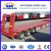 Automatic Hydraulic Braking System 3 Axles Low Bed/Lowboy Truck Semi Trailers