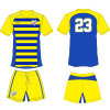 Personalized Sublimated Football Kits Jersey with Team Name