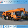Pickup 10 Ton Hydraulic Crane with Truck
