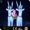 White Sculpture Horse Light for Outdoor christmas Decoration
