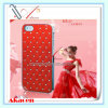 Diamond Starry Sky Plated Hard Phone Mobile Case for iPhone 4 4s