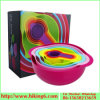 Colorful Rainbow Bowl 8PCS, Rainbow Mixing Bowl
