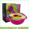 Colorful Rainbow Bowl 8PCS, Rainbow Mixing Bowl