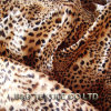 100% Satin Printing Polyester with Leopard Pattern