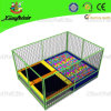 Mini Rectangle Trampoline with Ball Pool (0622D)