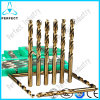 HSS Parallel Shank Fully Ground Drill Bit Set