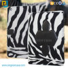 PU for iPad Air Leather Case, Hot Design Case for iPad 6, Zebra Pattern for iPad Air 2 Case for iPad 6