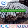 Hot Rolled Galvanized Deformed Steel Rebar From China Tanshan