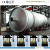Tire to Oil Refining Plant Pyrolysis and Distillation Combined
