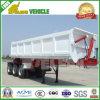Three Axle Hydraulic Cylinder Dump Truck Trailer