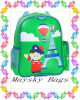 Shool Kids Bag Printing Children Sports Backpack