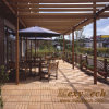 WPC Wood Plastic Composite DIY Floor for Patio Outdoors